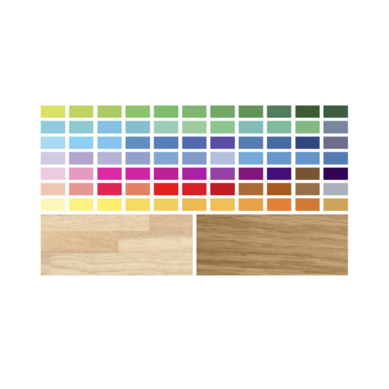 Nuancier de couleur et matière